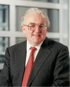 Lord Griffiths of Fforestfach (and Goldman Sachs). Photo: Princeton University.